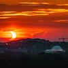 Partial Eclipse over Washington DC