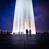 Purple Sky Washington Monument