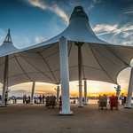 """The sunset view is fantastic at National Harbor, I had no idea the area was so built up, I know an area is fancy when it has a Peeps store.<br /> <br />  <a href=""""http://ihitthebutton.com/sunset-at-national-harbor/"""">http://ihitthebutton.com/sunset-at-national-harbor/</a>"""