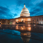 United States Capitol at Sunset
