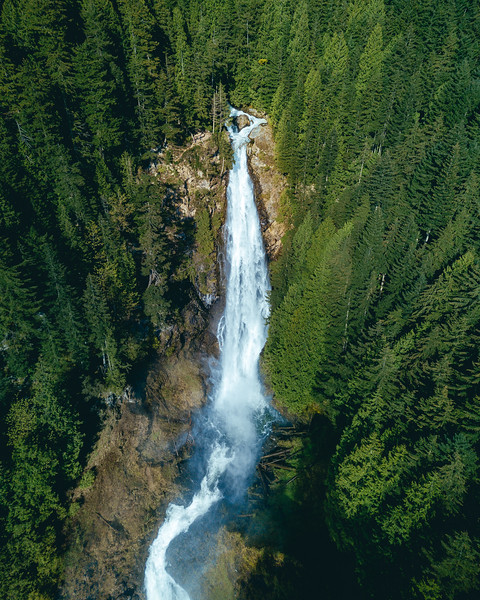Waterfall from Drone