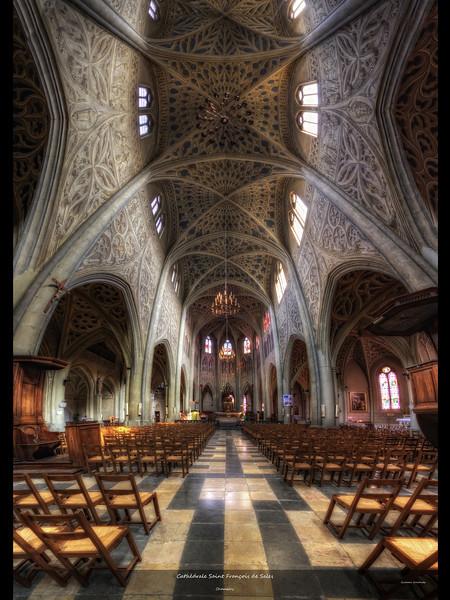 La cathédrale Saint François de Sales