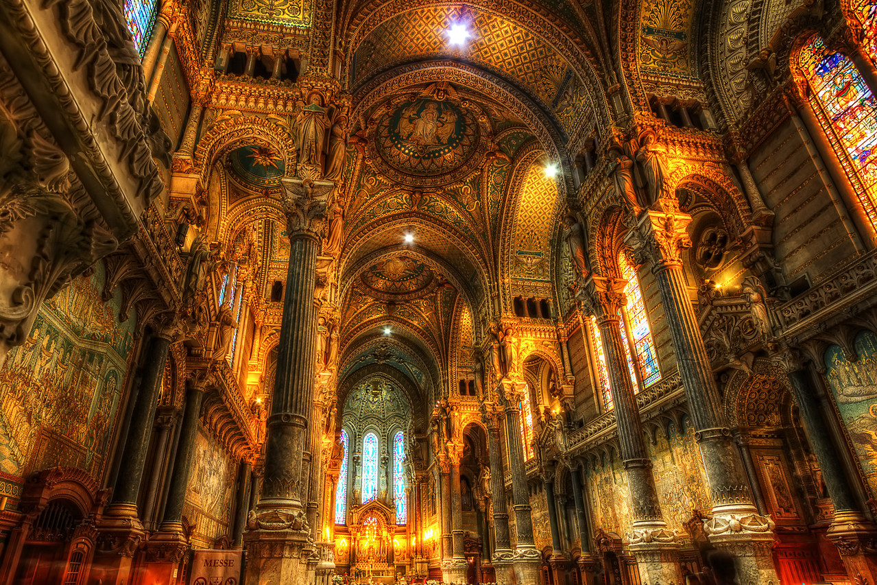 "Notre Dame de Fourvière. Follow me on my -Facebook page:   <a href=""http://www.facebook.com/pages/Girolamos-HDR-Photography/176753345698682"" rel=""nofollow    me"">Girolamo's HDR photos</a> -Google+ page: <a href=""https://plus.google.com/108629717769018996477"" rel=""nofollow    me"">Girolamo Cracchiolo</a> -My Blog: <a href=""http://girolamohdrphotos.wordpress.com/"" rel=""nofollow    me"">Girolamo's HDR Photos - Le blog</a> -My eBook: <a href=""http://itunes.apple.com/us/app/travel-in-hdr/id540996345?l"" rel=""nofollow me"">Travel in HDR</a>"