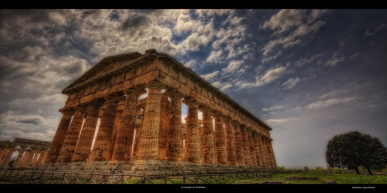 "Le temple de Poséidon Follow me on my -Facebook page:   <a href=""http://www.facebook.com/pages/Girolamos-HDR-Photography/176753345698682"" rel=""nofollow    me"">Girolamo's HDR photos</a> -Google+ page: <a href=""https://plus.google.com/108629717769018996477"" rel=""nofollow    me"">Girolamo Cracchiolo</a> -My Blog: <a href=""http://girolamohdrphotos.wordpress.com/"" rel=""nofollow    me"">Girolamo's HDR Photos - Le blog</a>"