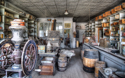 Bodie General Store HDR 2