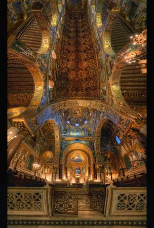 La chapelle Palatine Follow me on my -Facebook page:   Girolamo's HDR photos -Google+ page: Girolamo Cracchiolo -My Blog: Girolamo's HDR Photos - Le blog