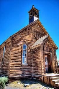 Bodie Church HDR