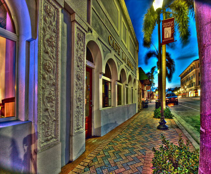 Fort Pierce Fl by night