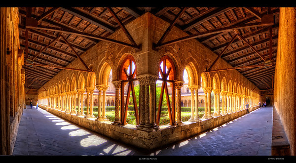 Le cloître de Monreale Follow me on my -Facebook page:   Girolamo's HDR photos -Google+ page: Girolamo Cracchiolo -My Blog: Girolamo's HDR Photos - Le blog