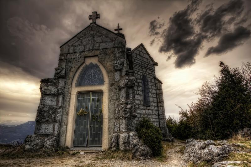 La chapelle du Mont Saint Michel