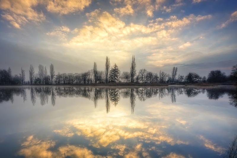 A winter sunrise trilogy {Acte 1}