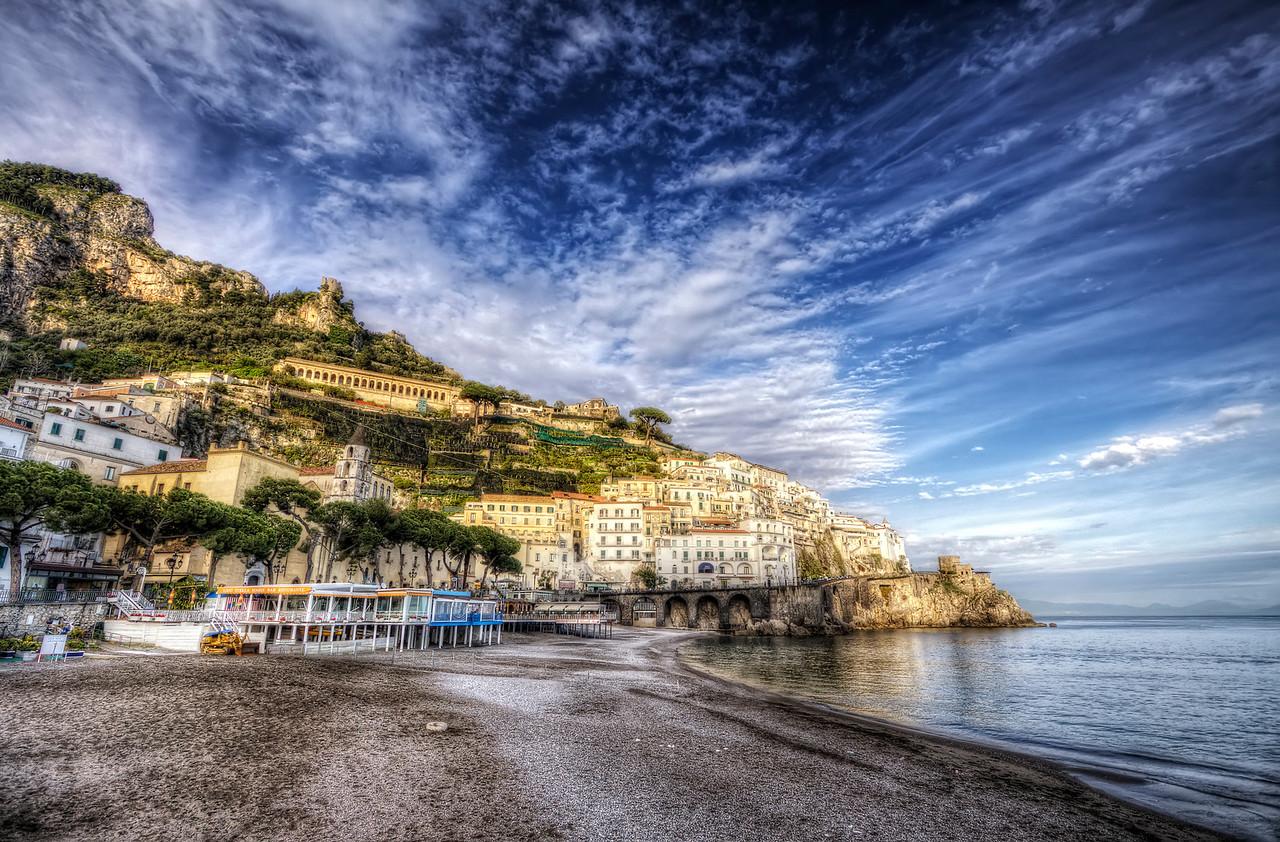 Fin de Journée à Amalfi