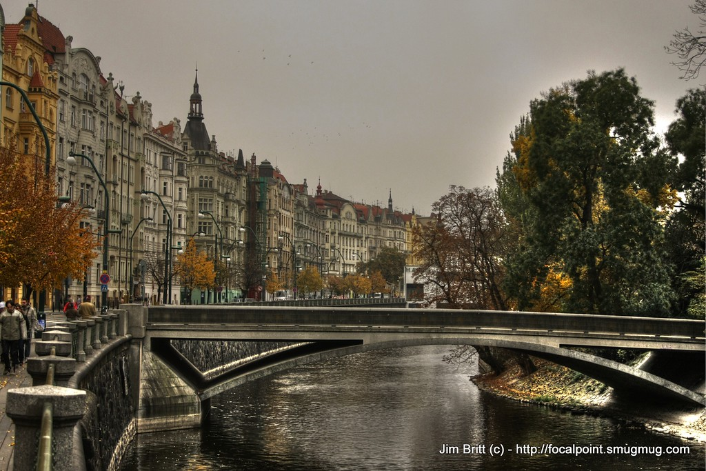 River Crossing (a favorite) - Prague CZ