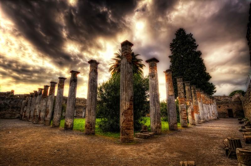 Les colonnes de Pompei