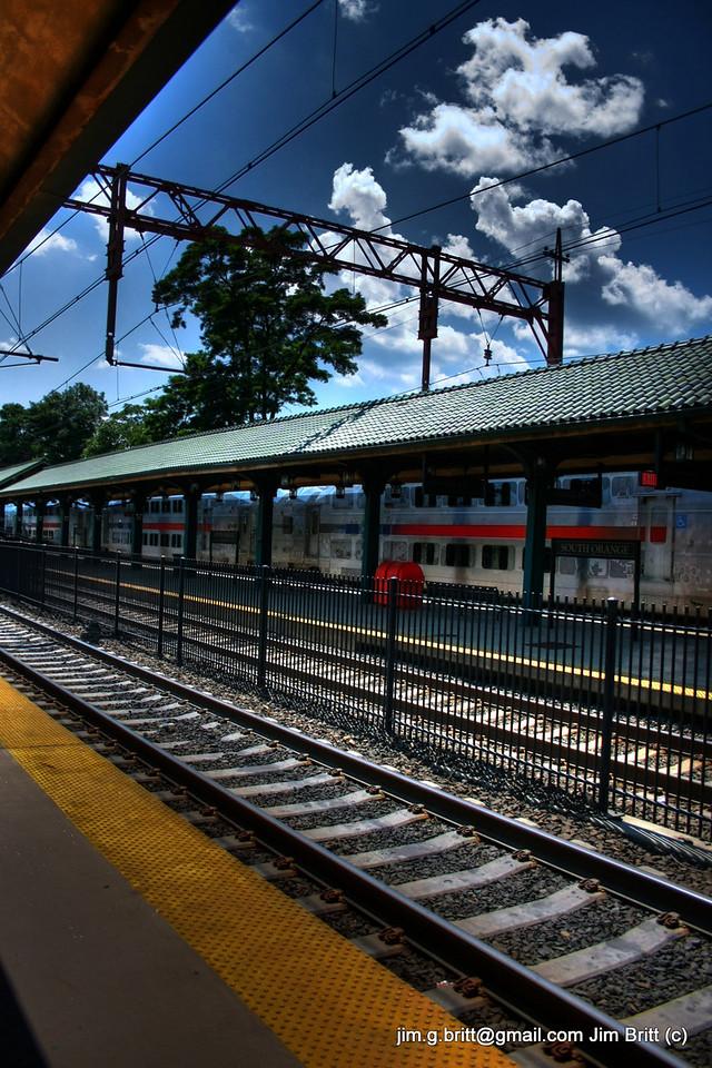 South Orange, NJ train station