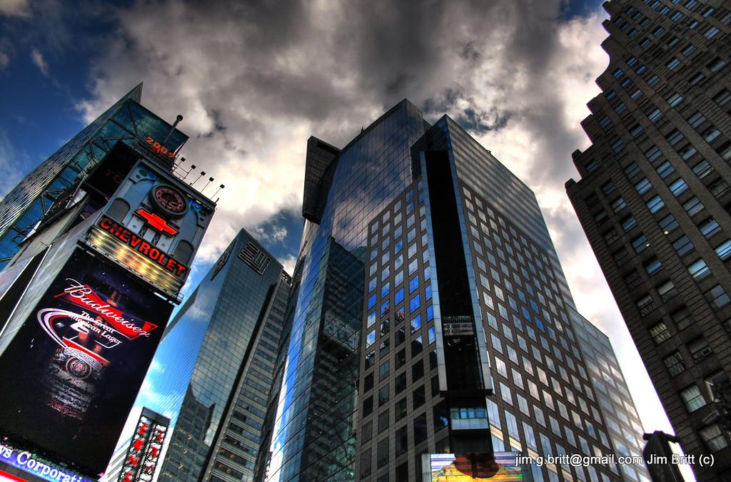 """Gotham"" - New York - Times Square"