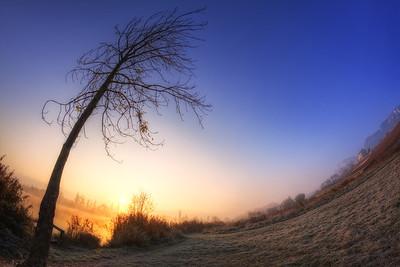 Courbes d'un matin d'automne. Follow me on my -Facebook page:   Girolamo's HDR photos -Google+ page: Girolamo Cracchiolo -My Blog: Girolamo's HDR Photos - Le blog