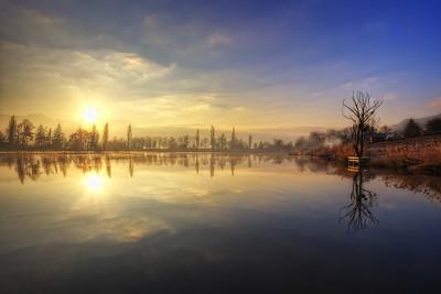 A winter sunrise trilogy {Acte 3}
