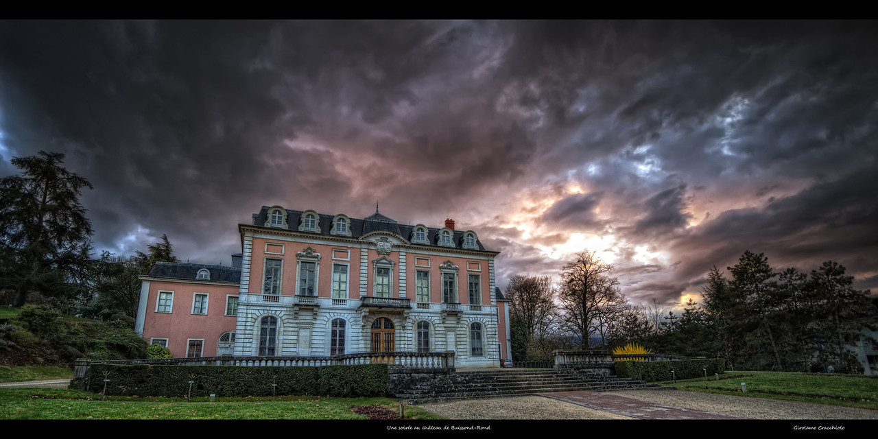 "Une soirée au château de Buisson-Rond Follow me on my -Facebook page:   <a href=""http://www.facebook.com/pages/Girolamos-HDR-Photography/176753345698682"" rel=""nofollow    me"">Girolamo's HDR photos</a> -Google+ page: <a href=""https://plus.google.com/108629717769018996477"" rel=""nofollow    me"">Girolamo Cracchiolo</a> -My Blog: <a href=""http://girolamohdrphotos.wordpress.com/"" rel=""nofollow    me"">Girolamo's HDR Photos - Le blog</a>"