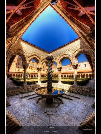 La fontaine Follow me on my -Facebook page:   Girolamo's HDR photos -Google+ page: Girolamo Cracchiolo -My Blog: Girolamo's HDR Photos - Le blog