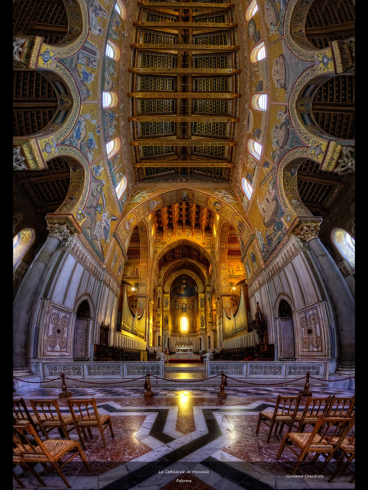 "La Cathédrale de Monreale Follow me on my -Facebook page:   <a href=""http://www.facebook.com/pages/Girolamos-HDR-Photography/176753345698682"" rel=""nofollow    me"">Girolamo's HDR photos</a> -Google+ page: <a href=""https://plus.google.com/108629717769018996477"" rel=""nofollow    me"">Girolamo Cracchiolo</a> -My Blog: <a href=""http://girolamohdrphotos.wordpress.com/"" rel=""nofollow    me"">Girolamo's HDR Photos - Le blog</a>"