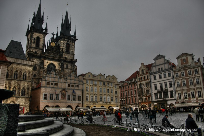 The Church and People - Prague CZ