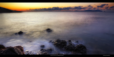 Le jour se lève sur la Presqu'île de Giens