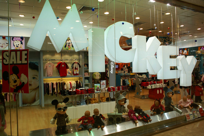 MICKEY SHOP. HONG KONG.