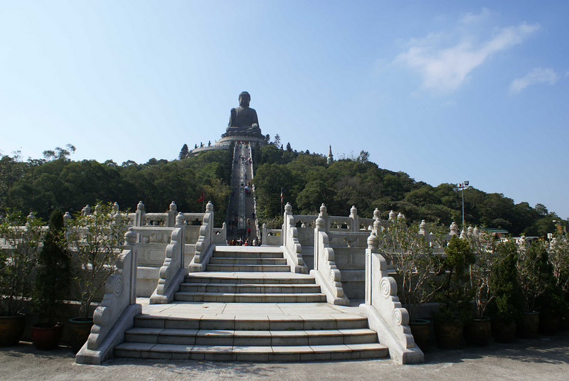 BIG BUDDHA. LANTAU. HONG KONG.