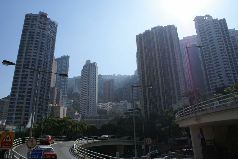 SKY SCRAPERS. HONG KONG.