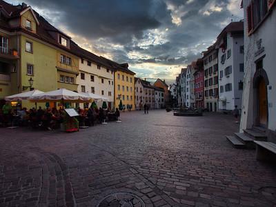 Inviting Square - Chur, Switzerland