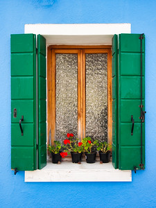 Quaint Window - Burano, Italy