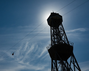 Cable Car in the Sky - Barcelona, Spain