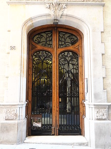 Ornate Door - Barcelona SPAIN