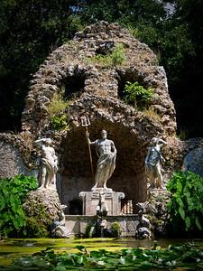 Gods - Trsteno Arboretum, Croatia