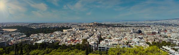 Athens Panorama - Athens, Greece