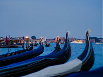 'Gondolas' - Venice, Italy
