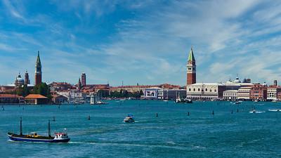 'San Marco Basin' - Venice, Italy