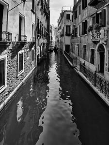 'Monochrome Canal' - Venice, Italy