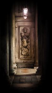 'Dimly Lit Passage' - Venice, Italy