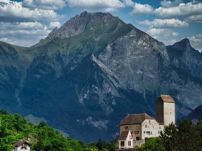 Majestic Backdrop - Swiss Alps, Switzerland
