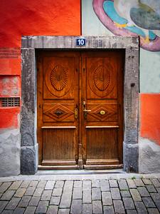 Door No. 10 - Chur, Switzerland