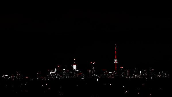 Toronto Skyline at Night - Toronto CANADA