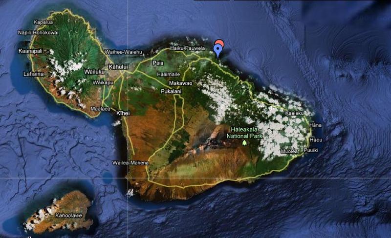 Maui google maps