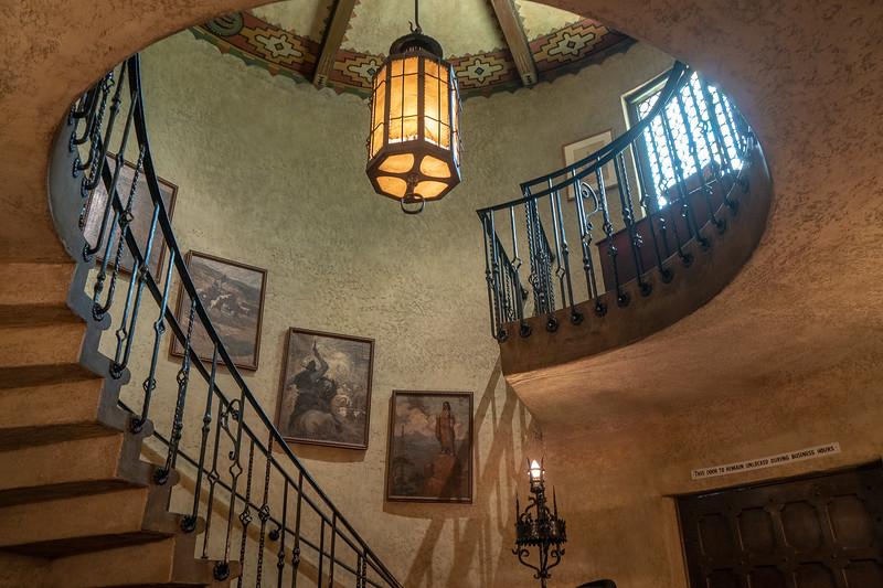 Foyer, Hart Museum