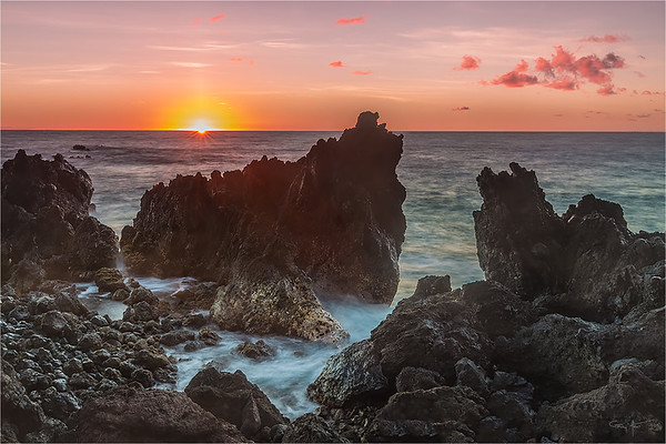 Island Daybreak, Laupahoehoe Point, Hawaii