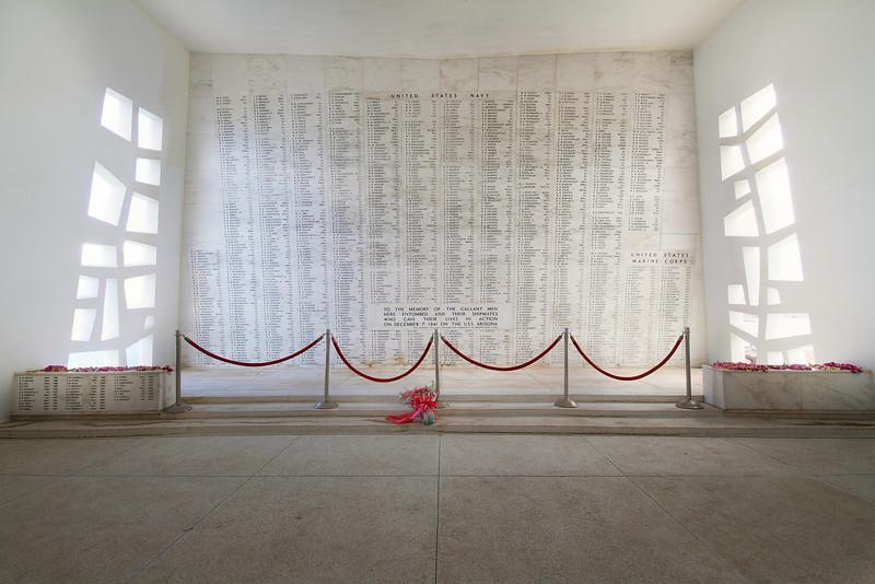 Arizona Memorial at Pearl Harbor - Oahu, Hawaii