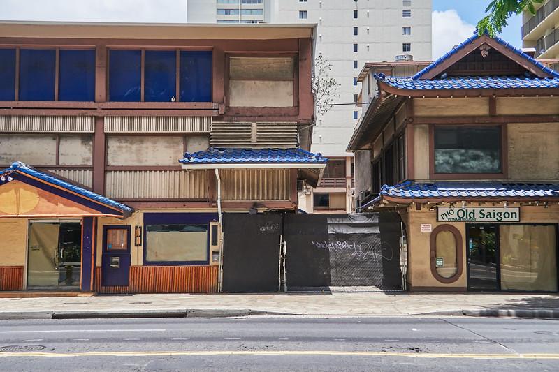 Old Remnants #3 - Honolulu, Hawaii