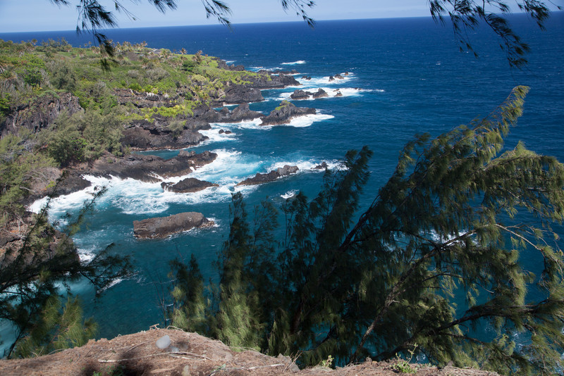 Beautiful cove, south coast of Maui