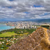 Diamond Head View - Honolulu, Hawaii